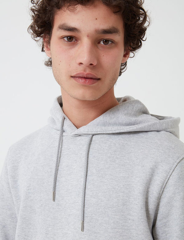 Sweat à Capuche Norse Projects Vagn Classic (Coton 445 g/m2) - Gris Clair Chiné