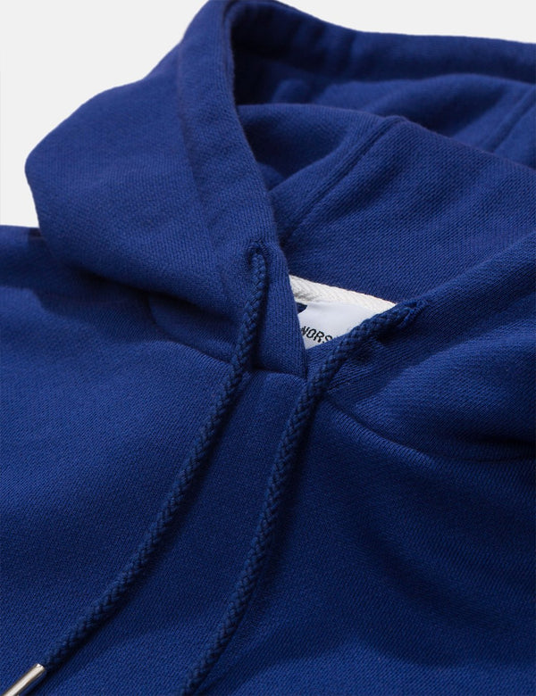 Norse Projects Vagn Classic Hoodie - Ultra Marine
