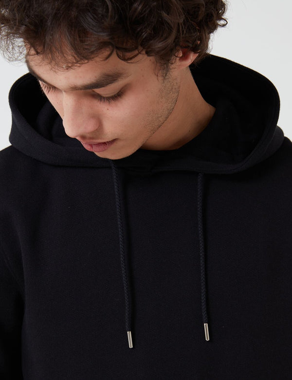 Sweat à Capuche Norse Projects Vagn Classic (Coton 445 g/m2) - Noir