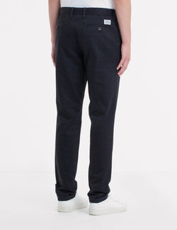 Norse Projects Aros Chino Trousers Heavy Cotton (Regular Fit) - Black