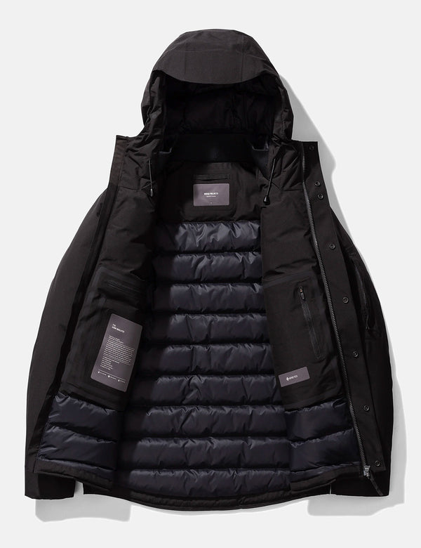 Veste Norse Projects Fyn Down 2.0 Gore Tex - Noir