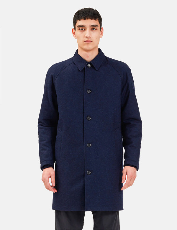 Norse Projects Svalbard Infinium Gore Tex Reversible Jacket - Dark Navy Blue