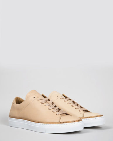 No. 288 Prince Low-Top Trainers - Natural