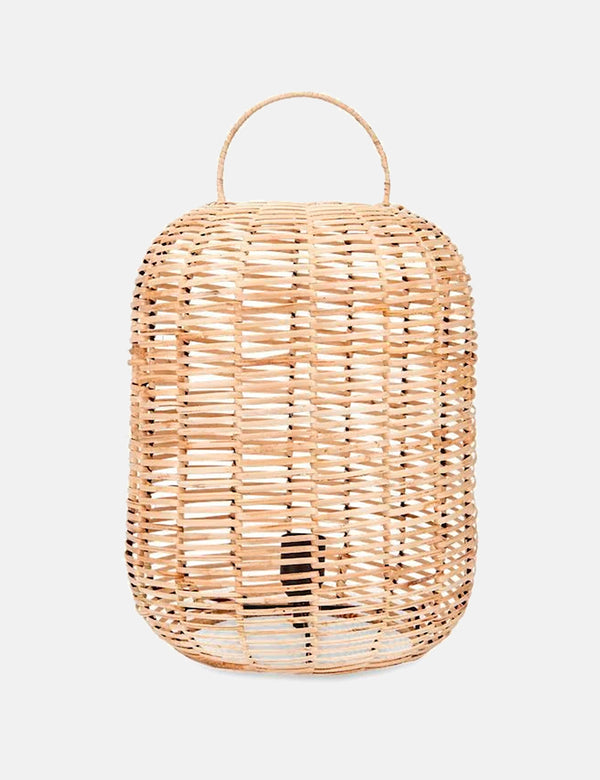Nkuku Noko Wicker Lamp (48 x 30cm) - Natural