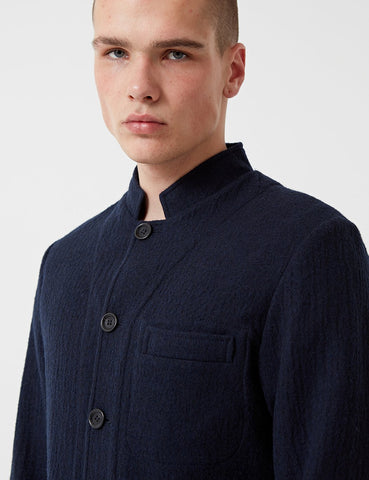 Oliver Spencer Coram Jacket (Wool) - Dexter Midnight Blue