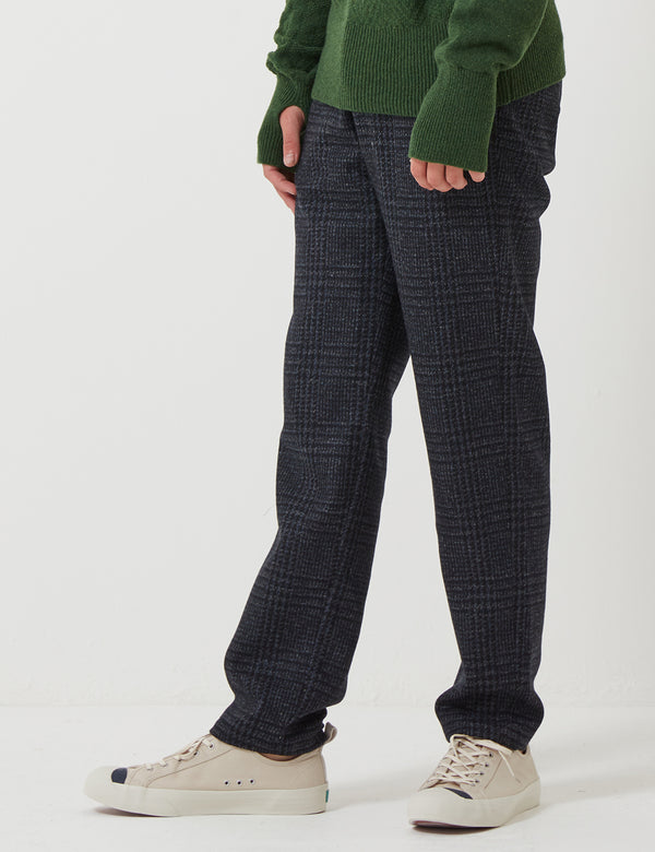 Oliver Spencer Fishtail Trousers - Palmerston Midnight Blue