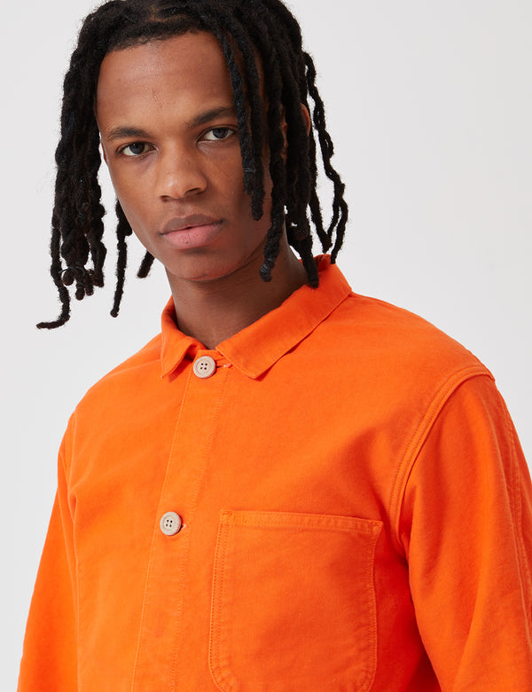 Bleu De Paname Veste De Comptoir Jacket - Orange