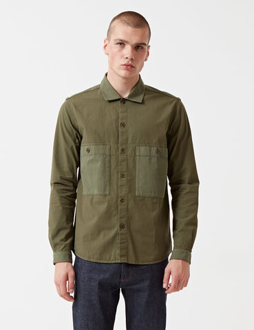 YMC Doc Savage Shirt - Olive