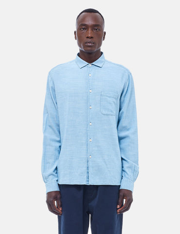 YMC Curtis Shirt - Bleached Blue