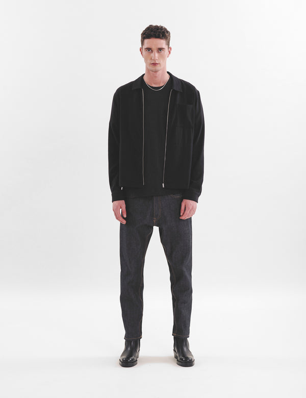 YMC Bowie Jacket (Wool Mix) - Black