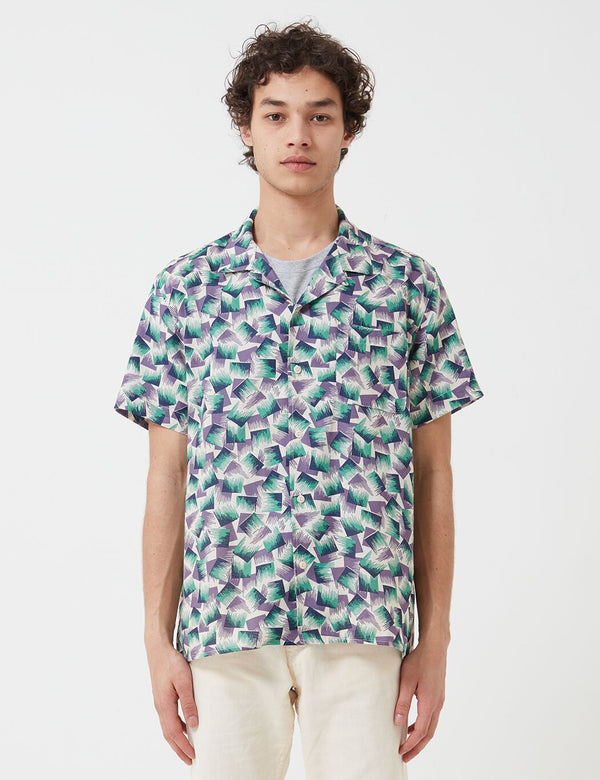 YMC Malick Shirt (Cotton Dobby) - Multi
