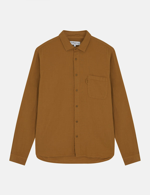 YMC Curtis Shirt - Brown