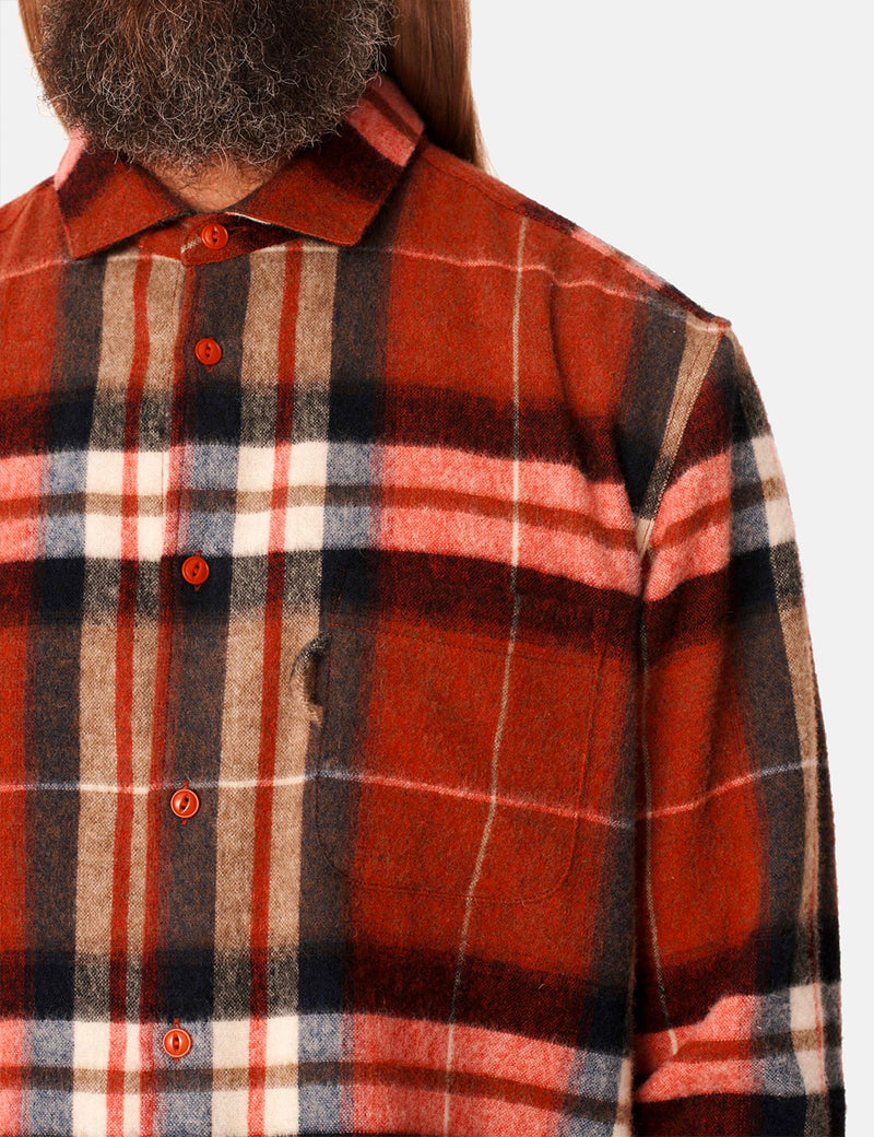 YMC Curtis Shirt - Red