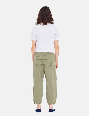 YMC Butt Pant Trousers - Olive Green