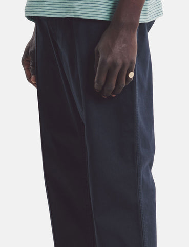 YMC Hand Me Down Trousers - Navy Blue Twill