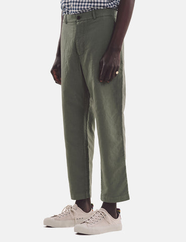 YMC Hand Me Down Trousers - Olive Green