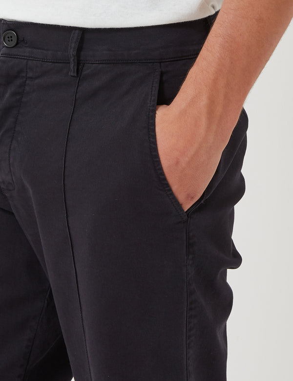 YMC Hand Me Down Trousers (Twill) - Black
