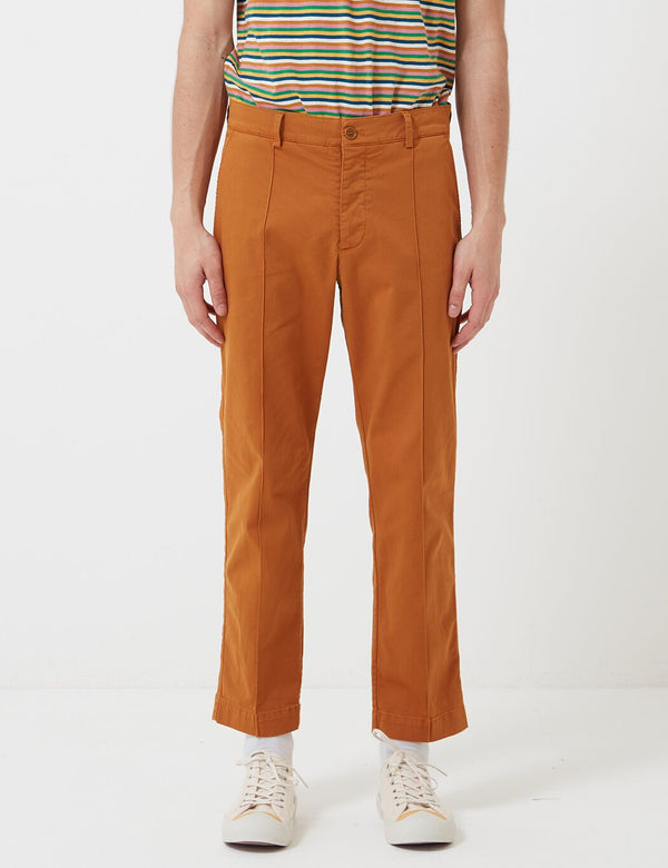 YMC Hand Me Down Trousers (Twill) - Brown
