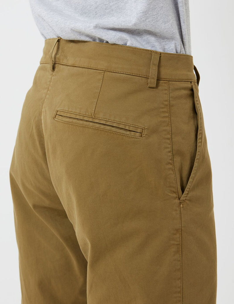 YMC Hand Me Down Trousers (Twill) - Olive Green