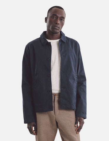 YMC Groundhog Jacket (Cotton Twill) - Navy Blue