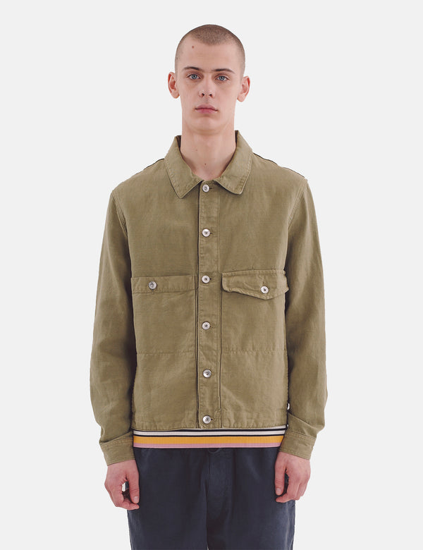 YMC Pinkley Jacket - Olive Green