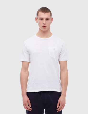 YMC Dead End Jacquard T-Shirt - White