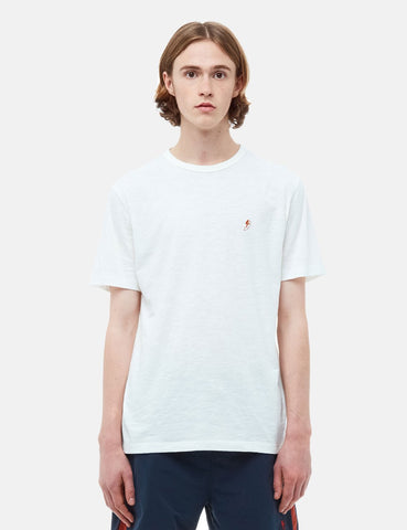 YMC Squid and Shark  T-Shirt - White