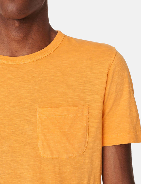YMC Wild Ones Pocket T-Shirt - Yellow