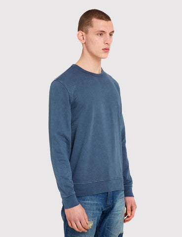 YMC Almost Grown Fleece Sweat - Navy