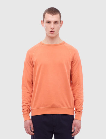 YMC Almost Grown Fleece Sweatshirt - Orange