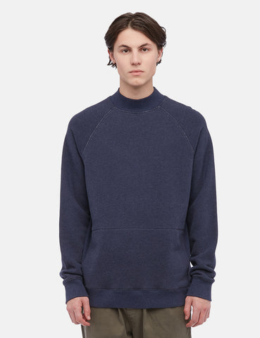 YMC Touche Pocket Sweatshirt - Navy Blue