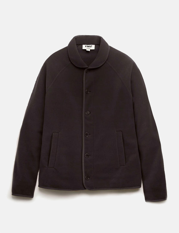 YMC Beach Jacket (Fleece) - Black