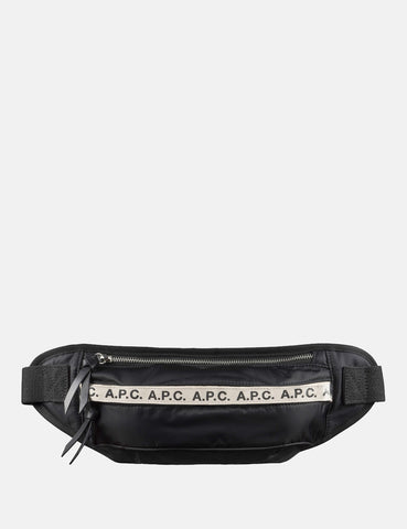 A.P.C. Banane Lucille Hip Bag - Black - Article