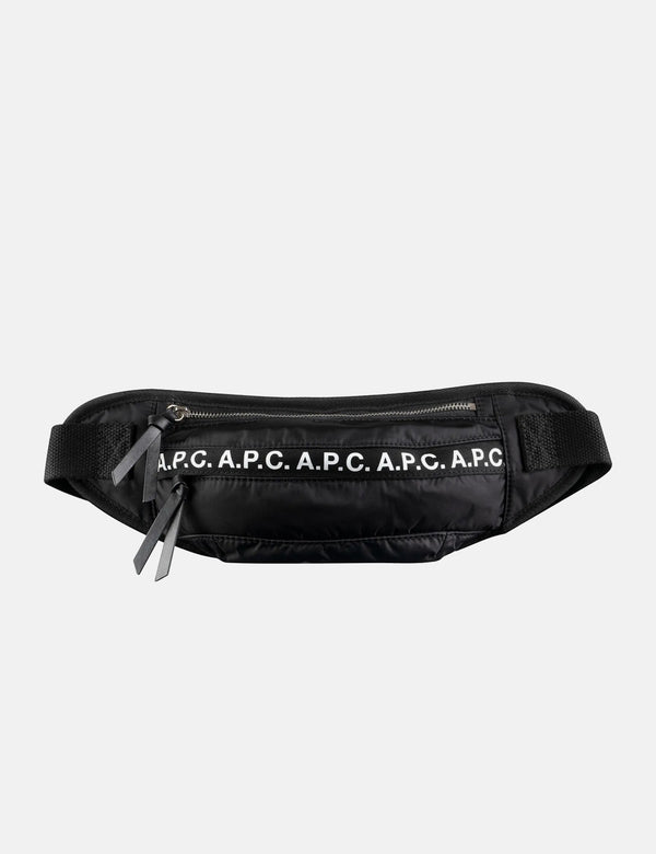 A.P.C. Banane Lucille Hip Bag - Noir Black