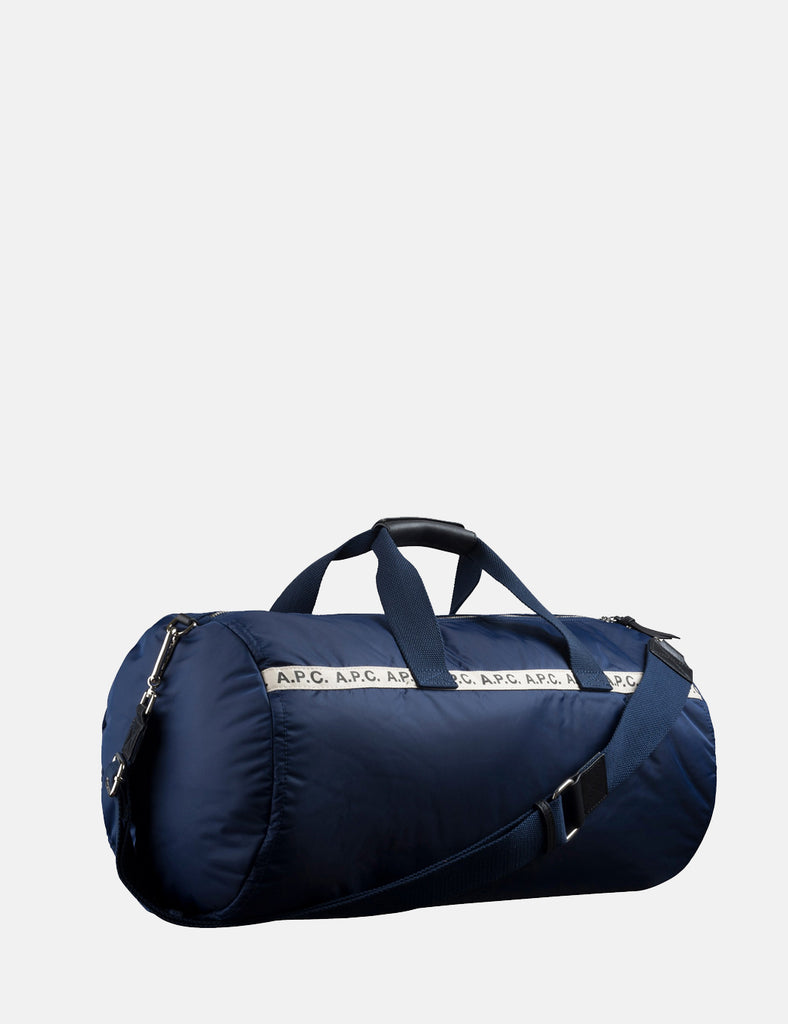 6414e17c471 + A.P.C. Sac Sport Maybellene Holdall Bag - Navy Blue - Article