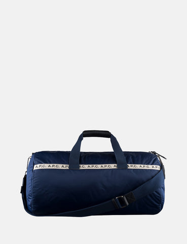 A.P.C. Sac Sport Maybellene Holdall Bag - Navy Blue - Article