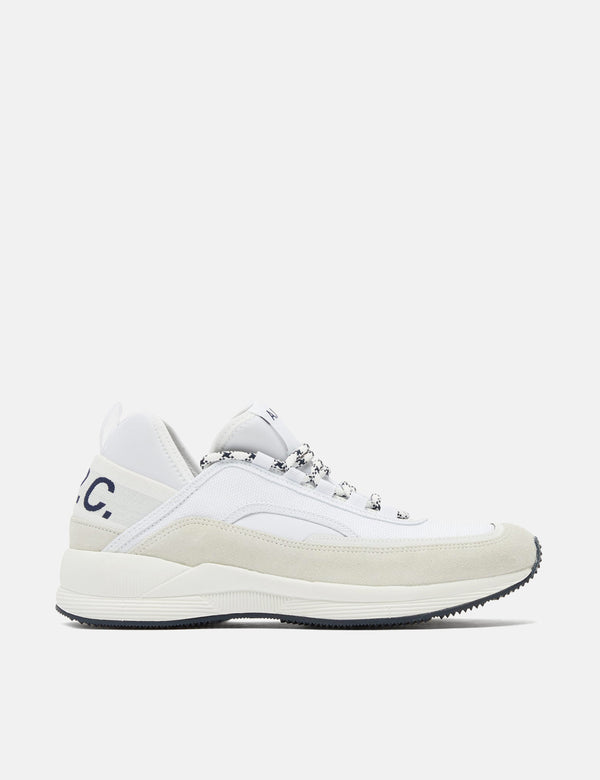 A.P.C Run Around Trainers - White