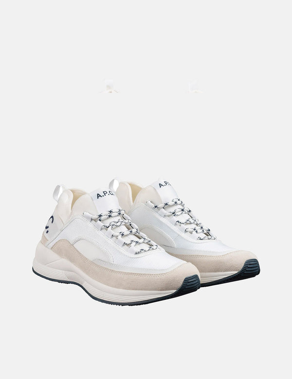 A.P.C Run Around Sneakers - White