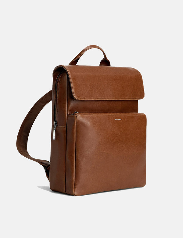 Matt & Nat Paxx Backpack - Chili Matt Nickel Brown