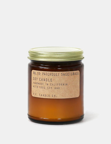 P.F. Candle Co. Soy Candle - Patchouli Sweetgrass