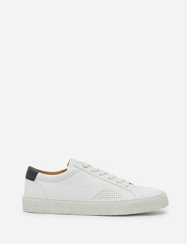 YMC DAP Shoe 1 Trainers (Leather) - White/Navy