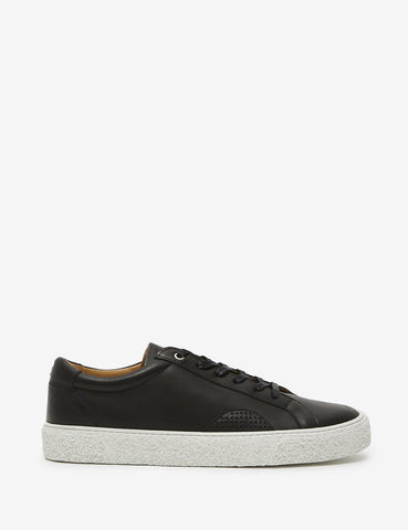 YMC DAP Shoe 1 Trainers (Leather) - Black