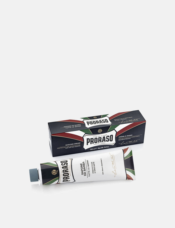 Proraso Shaving Cream Tube (150ml) - Aloe & Vitamin E