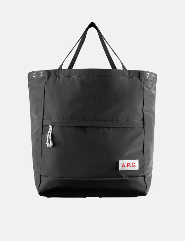 A.P.C. Protection Tote Bag - Black