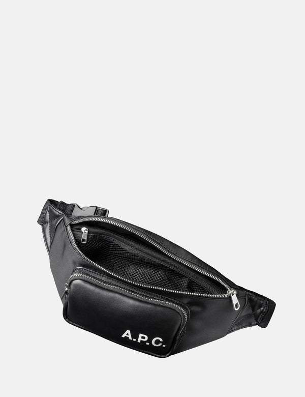 A.P.C. Banane Camden Hip Bag - Black