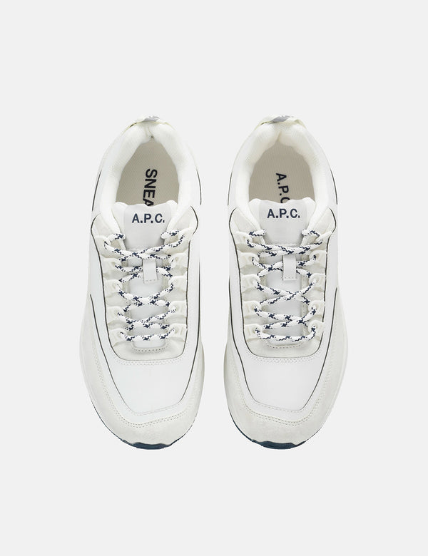 A.P.C Jay Sneakers - White