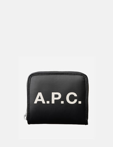 A.P.C. Compact Morgan Wallet - Black - Article