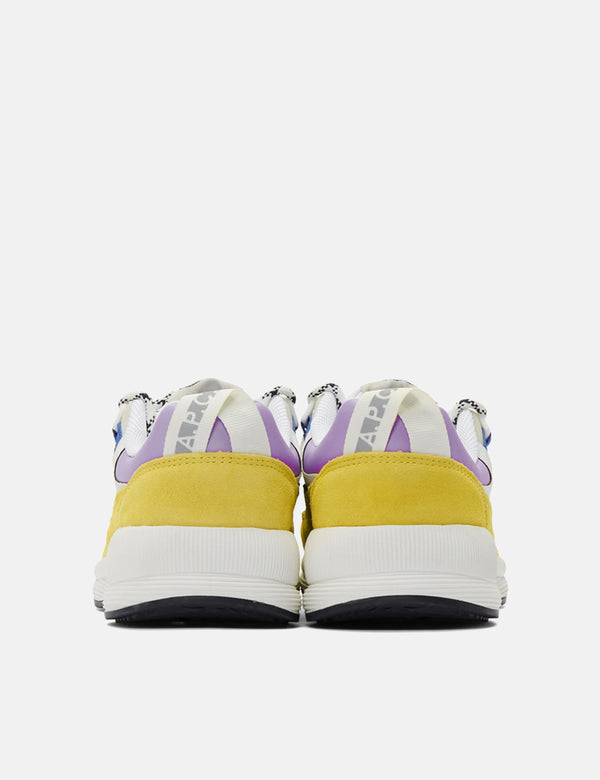 A.P.C x Brain Dead Jay Trainers - Jaune Yellow
