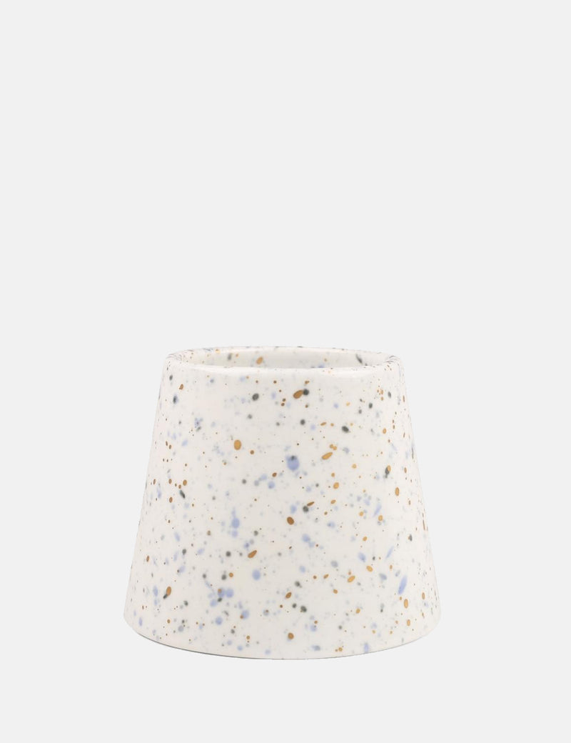 Paddywax Confetti Porcelain Candle (14oz) - Saltwater & Lily