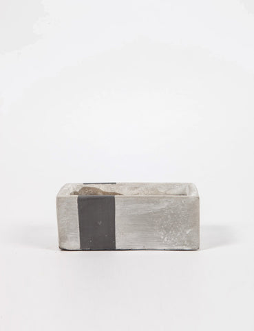 Paddywax Urban Concrete Rectangle Candle (8oz) - Fig & Olive